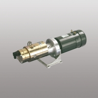 Complete unit in bronze version for foam agent pump with integrated flow meter and safety valve